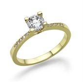 תמונה של טבעת יהלום 0.2 קראט