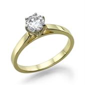 תמונה של טבעת יהלום 0.25 קראט