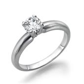 תמונה של טבעת יהלום 0.4 קראט